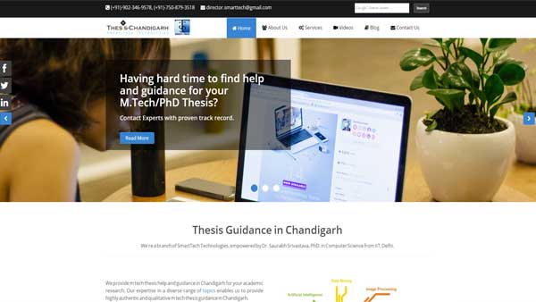 Thesis Chandigarh